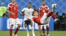 Russia knocks out Egypt