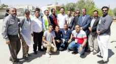 Crown Prince joins volunteers at national public school maintenance campaign in Mafraq