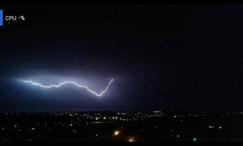 Lightning in Zarqa